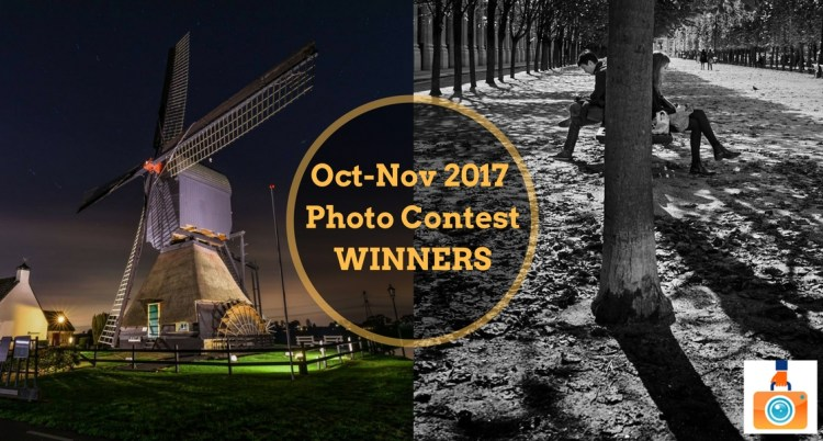 October-November 2017 Photo Contest Winners