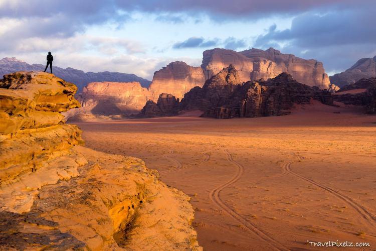 Wadi Rum, Jordan by Fabian Pfitzinger