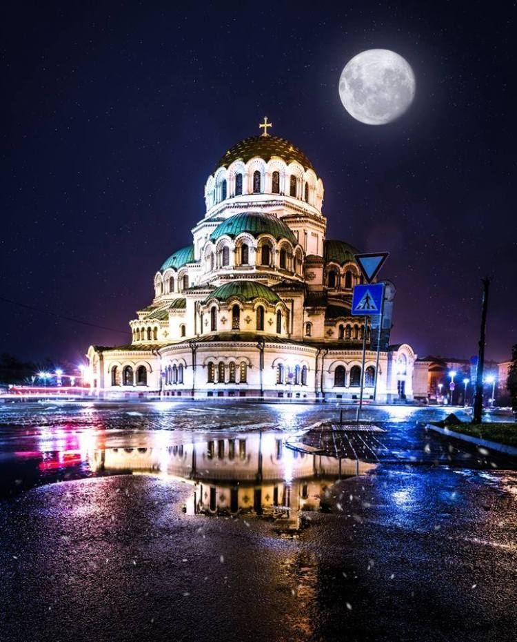 Sofia Cathedral by Michael Gerber
