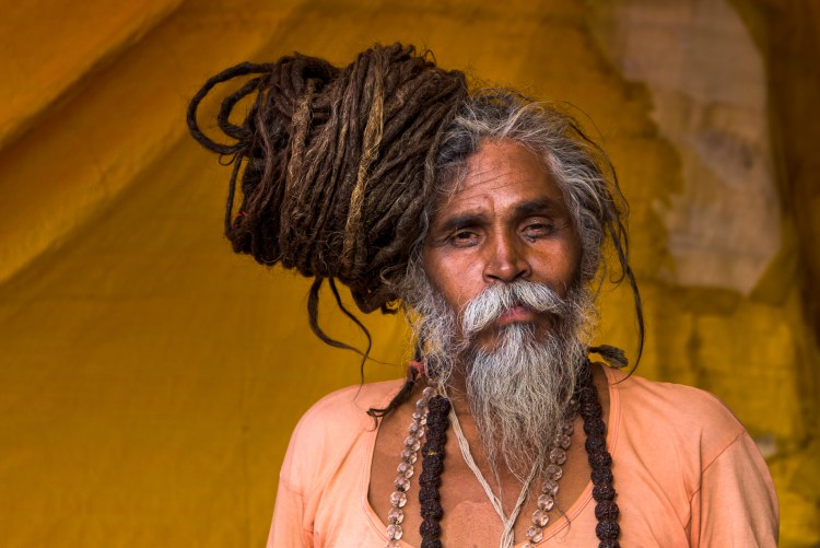 Sadhu at Kumbh Mela, India (Photo provided by Kipling India, Tour organizer, and used with permission)