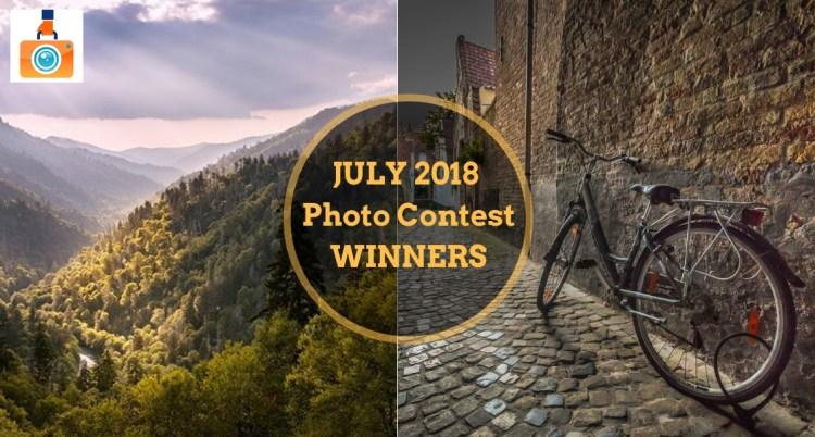 July 2018 Photo Contest Winners