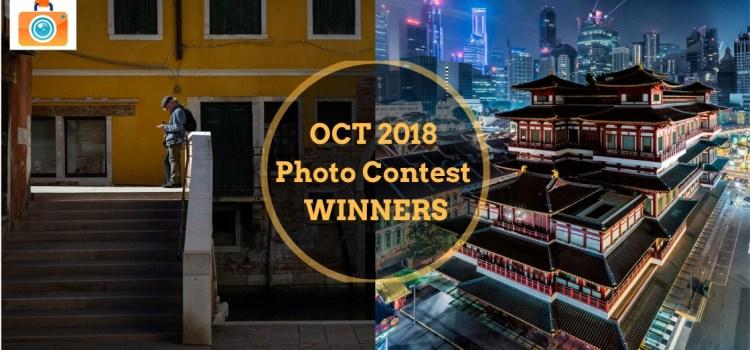 October 2018 Photo Contest Winners