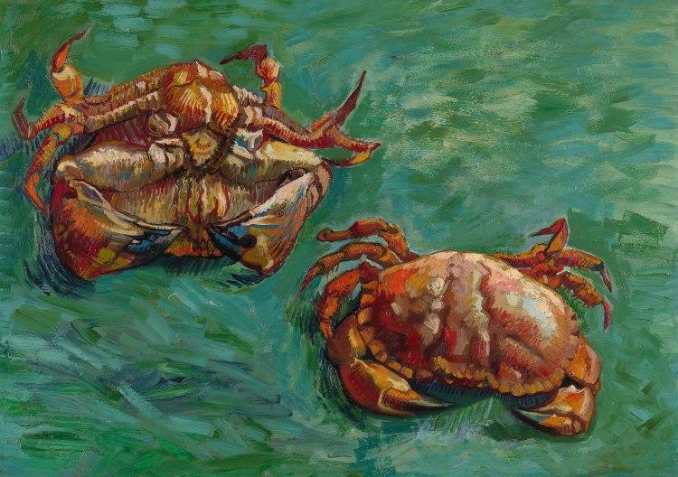 Vincent Van Gogh, Two Crabs