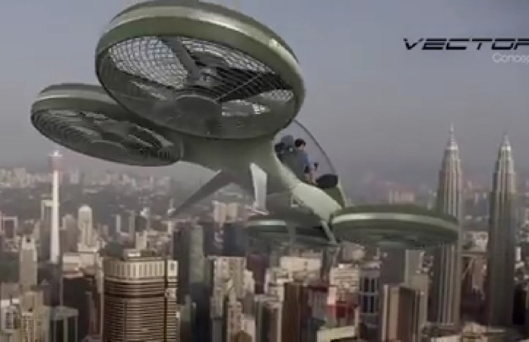 MED tunjuk bukti 3D animasi Vector mampu terbang.