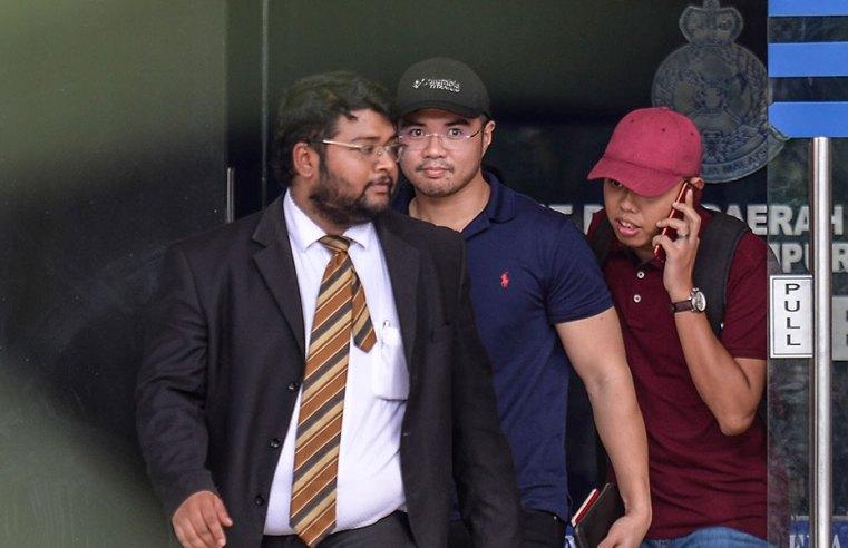 Haziq dibebaskan dengan jaminan polis, boleh ke luar negara jika beliau mahu.