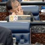 Video YB Baru Bian korek hidung tular.