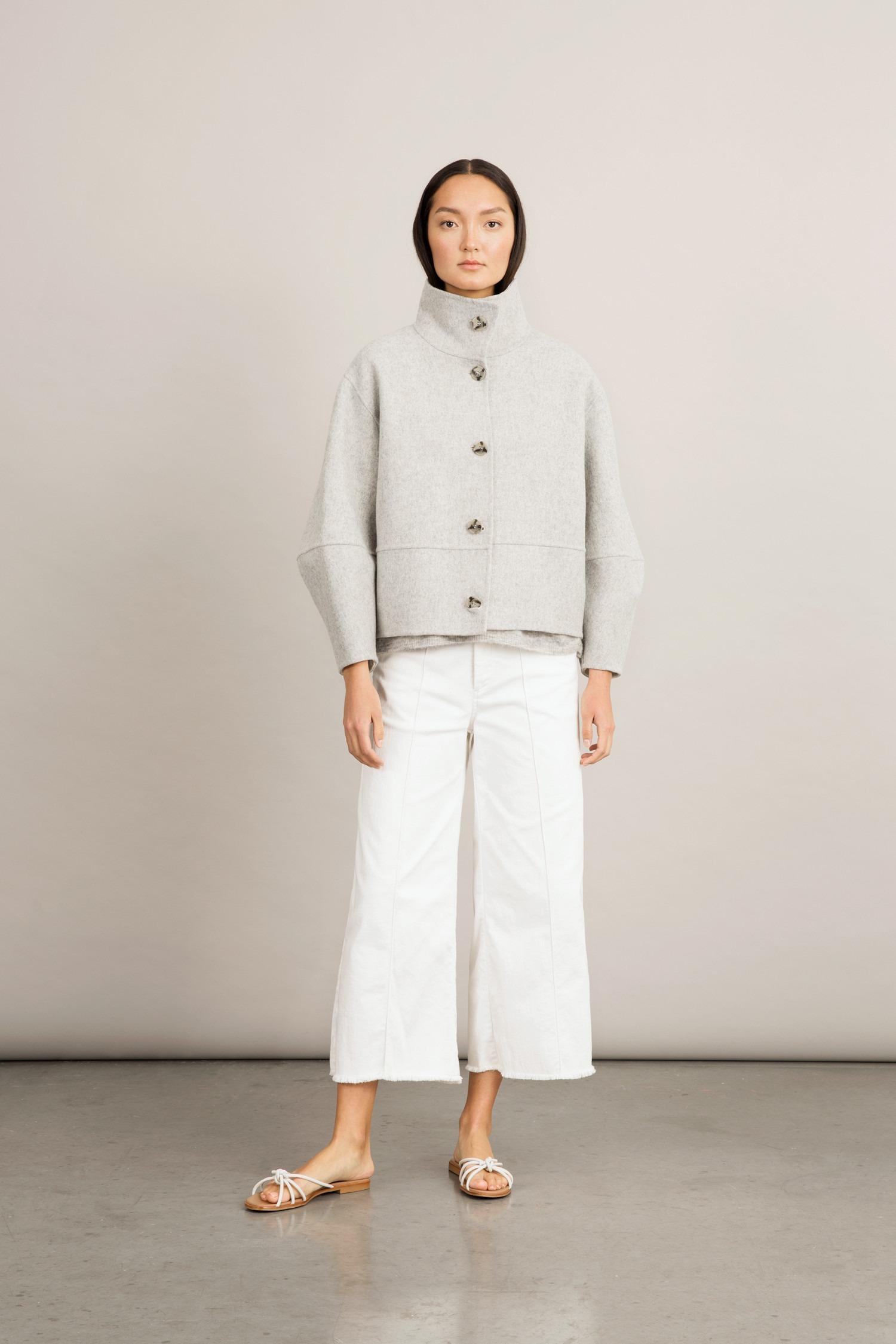 Stylein - Taormina Jacket - Light Grey - Front 02