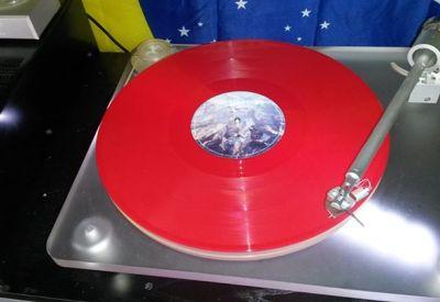 Red vinyl for The Temperance Movement album !