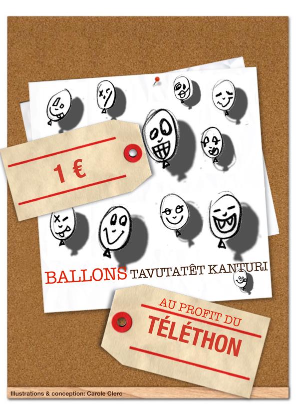 TAVUTATET KANTURI BALLON PR TELETHON LIONS CLUB