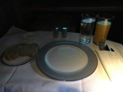 Meal set up