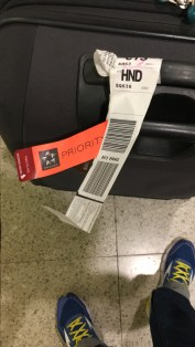 Star Alliance Priority tag all the way to CTS!