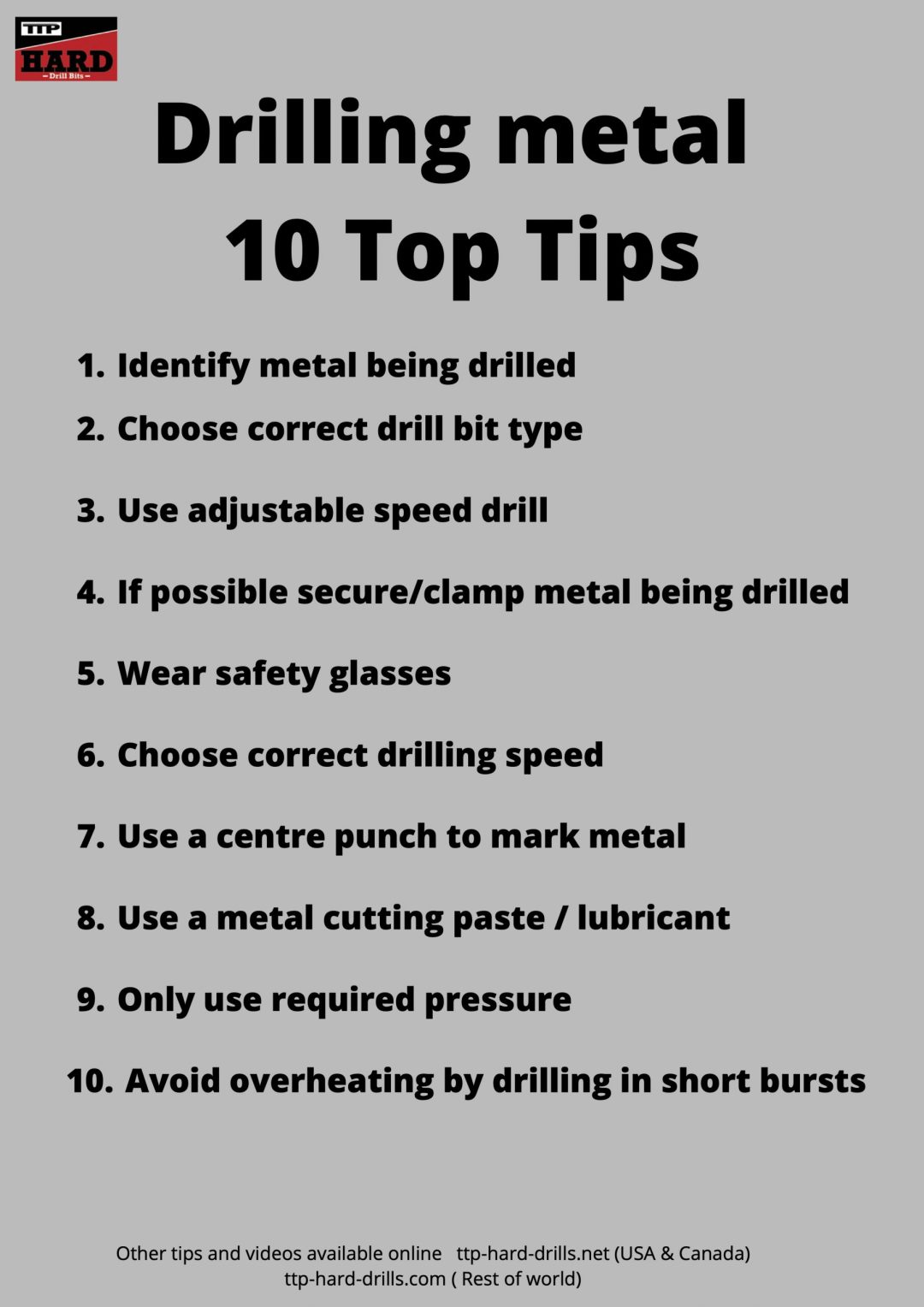 Drilling metal Top 10 Tips scaled - Drilling Metal: 10 Top Tips