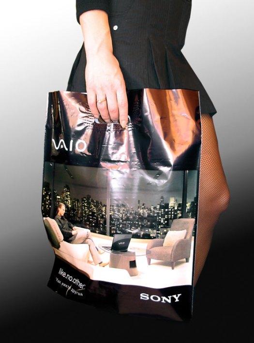 Plastic bag SONY