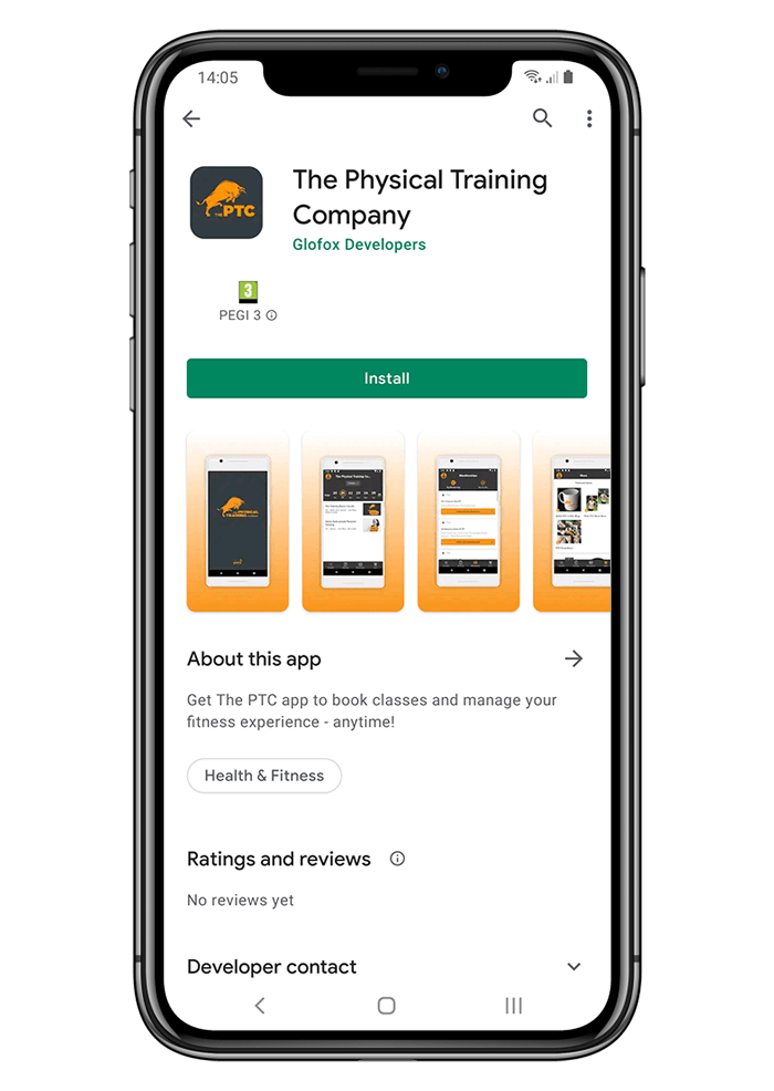 About the Training Room app