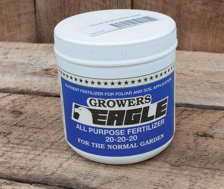 Growers 20-20-20 Fert - Qty. 227gm