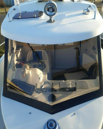 Quicksilver 630 Pilothouse inkl. 175PS Evinrude Angelguide