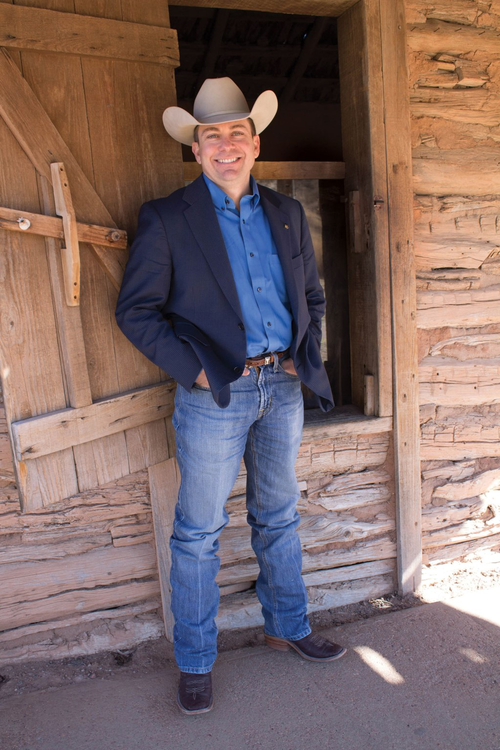 New Executive Director of the NRHC, Jim Bret Campbell, excited to return to Texas Tech.