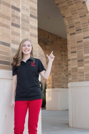 Maggie Pipkin, a student in the MILE Cohort 1, is seeking a degree in agricultural communications.