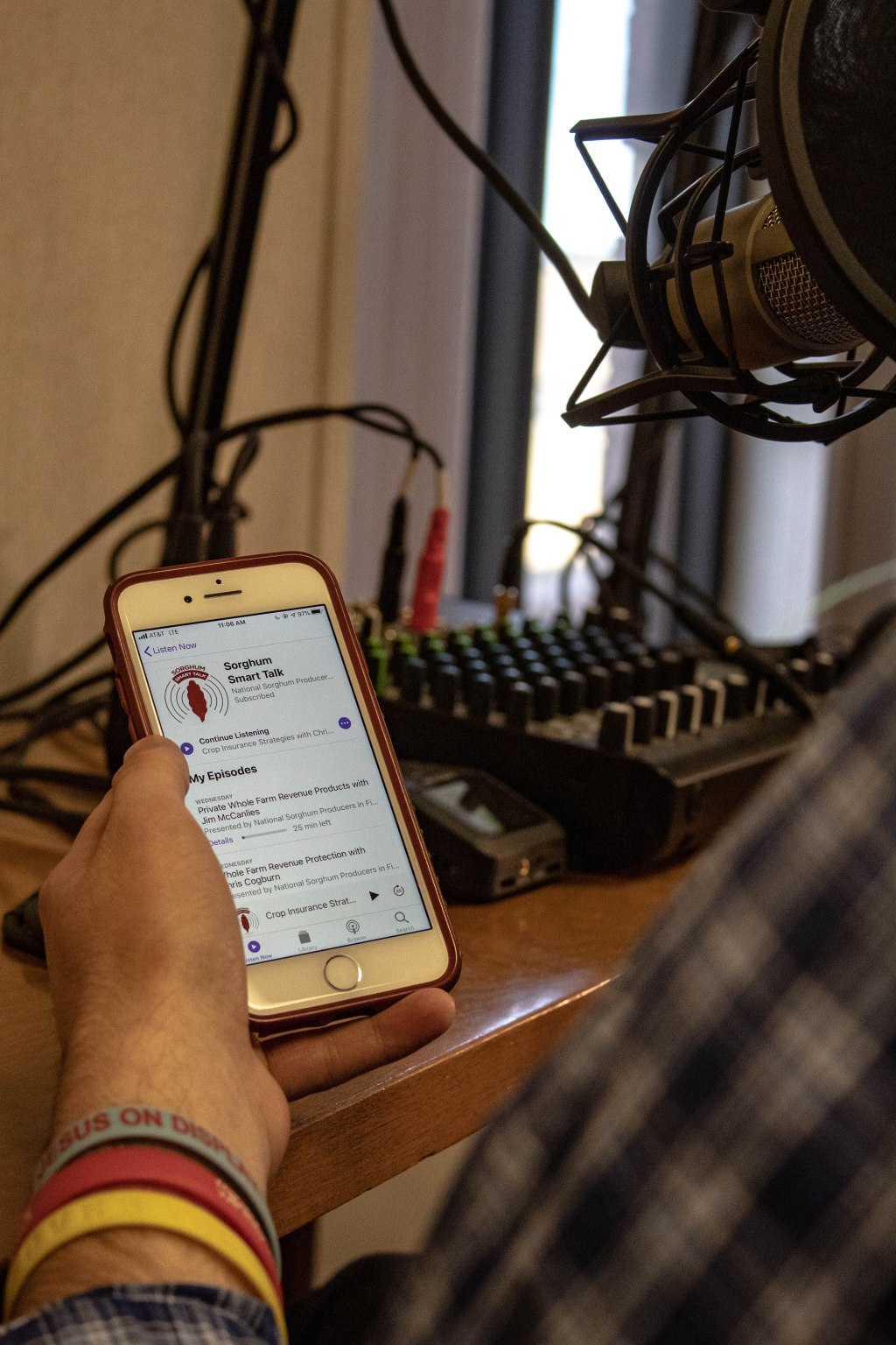 Photo of the Sorghum Smart Talk Podcast's home page on Apple Podcasts