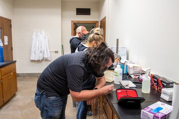 DNA Examination with aquatics program