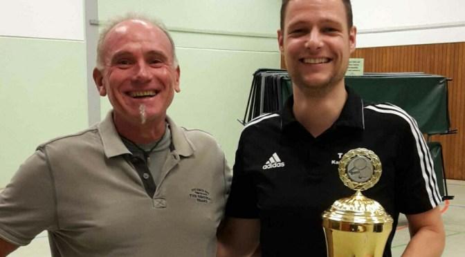 Danny Müller gewinnt Vereinspokal 2017