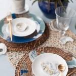 Diy Coastal Wedding Charger Plates With Decoart Tidewater And Tulle Coastal Virginia Wedding Blog And Magazine