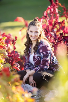 Senior Pictures in fall colors