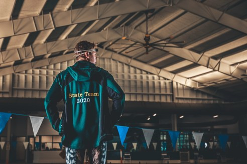 state champion swimmer