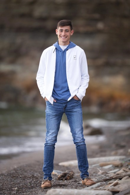 Bay Village Featured Senior Photography at the boat club