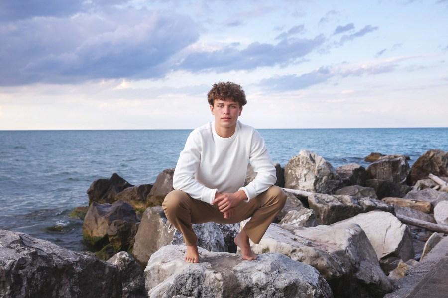 st. edward senior photography on the lake
