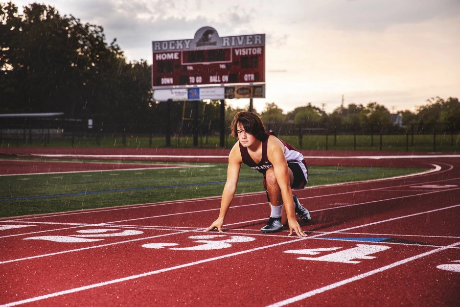 Featured Rocky River, Ohio Senior Photography track pictures