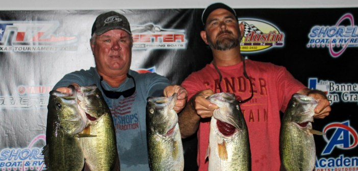 Groce and Hale win $2685 on Travis Tuesday with 24.98 lbs