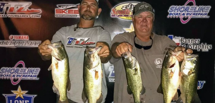 Hale and Groce win Travis Tuesday with 14.59lbs