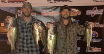 Brooke and Ellis win Travis Tuesday with 19.21 lbs.
