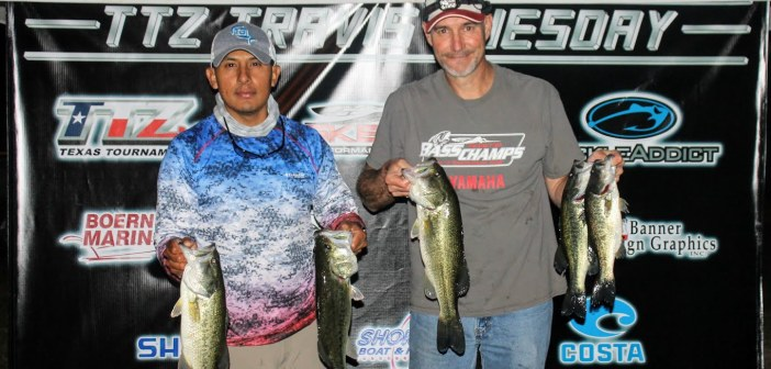 Thiel and Saucedo win TTZ Travis Tuesday with 12.64 lbs.