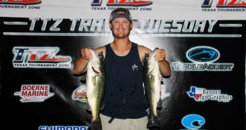 Tyler Torwick wins Travis Tuesday solo with 16.50 lbs