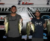 Mueller and Oates win TTZ Travis Tuesday with 13.39 lbs