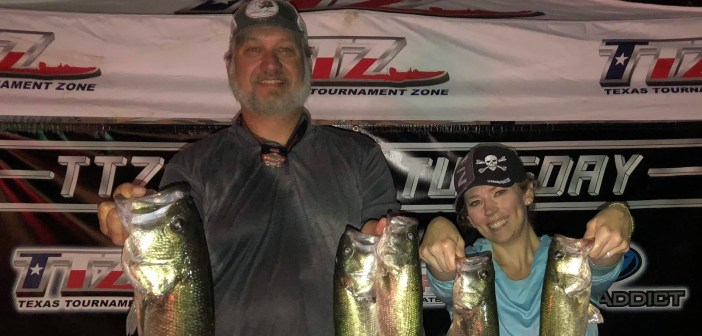 Postell and Frisbie win TTZ Travis Tuesday with 11.21 lbs
