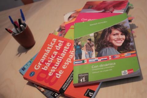 Spanisch und Deutsch Unterricht in Berlin – Materialien