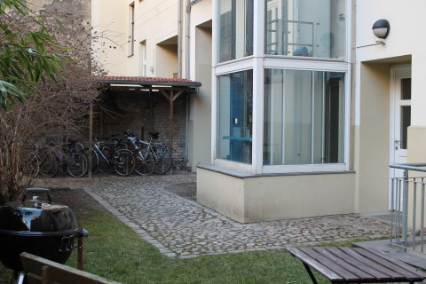 Unsere Sprachschule in Prenzlauer Berg – Der Garten