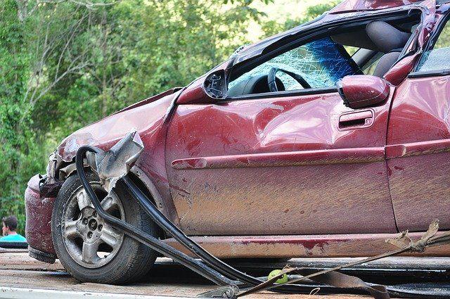 Accidentes de carro en california