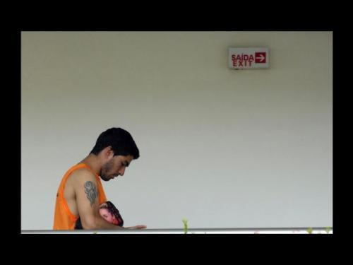 Luis Suárez abandona la concentración (foto: http//cde.peru.com)