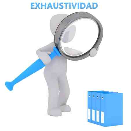 exhaustividad