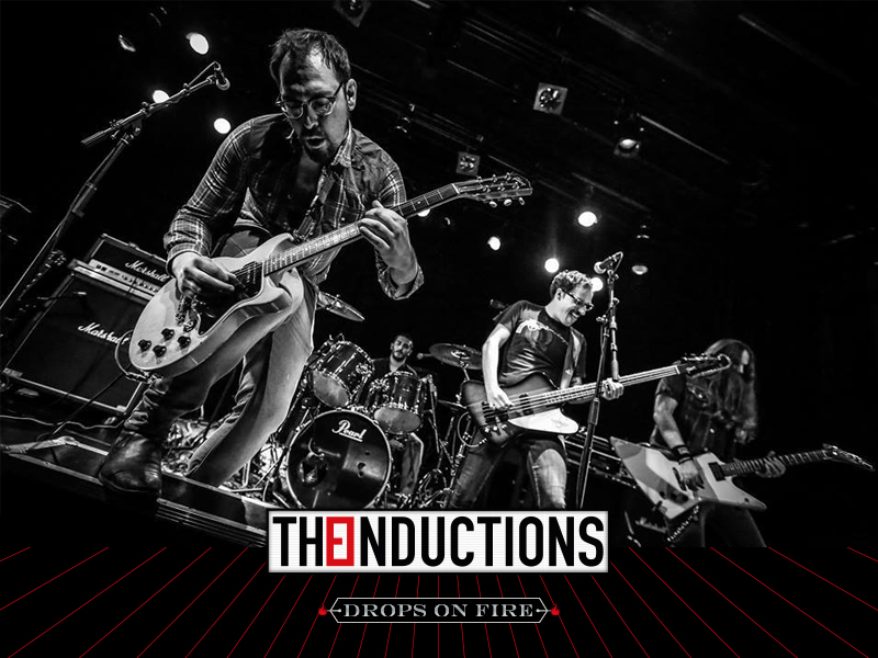 THE INDUCTIONS, un grupo con mucha caña