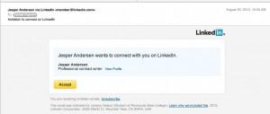 LinkedIn Phishing Scam