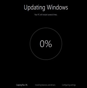 updating windows
