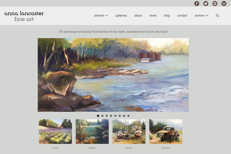 New Artist Website Remodel