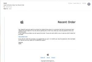 Apple Phishing Scheme, Beware