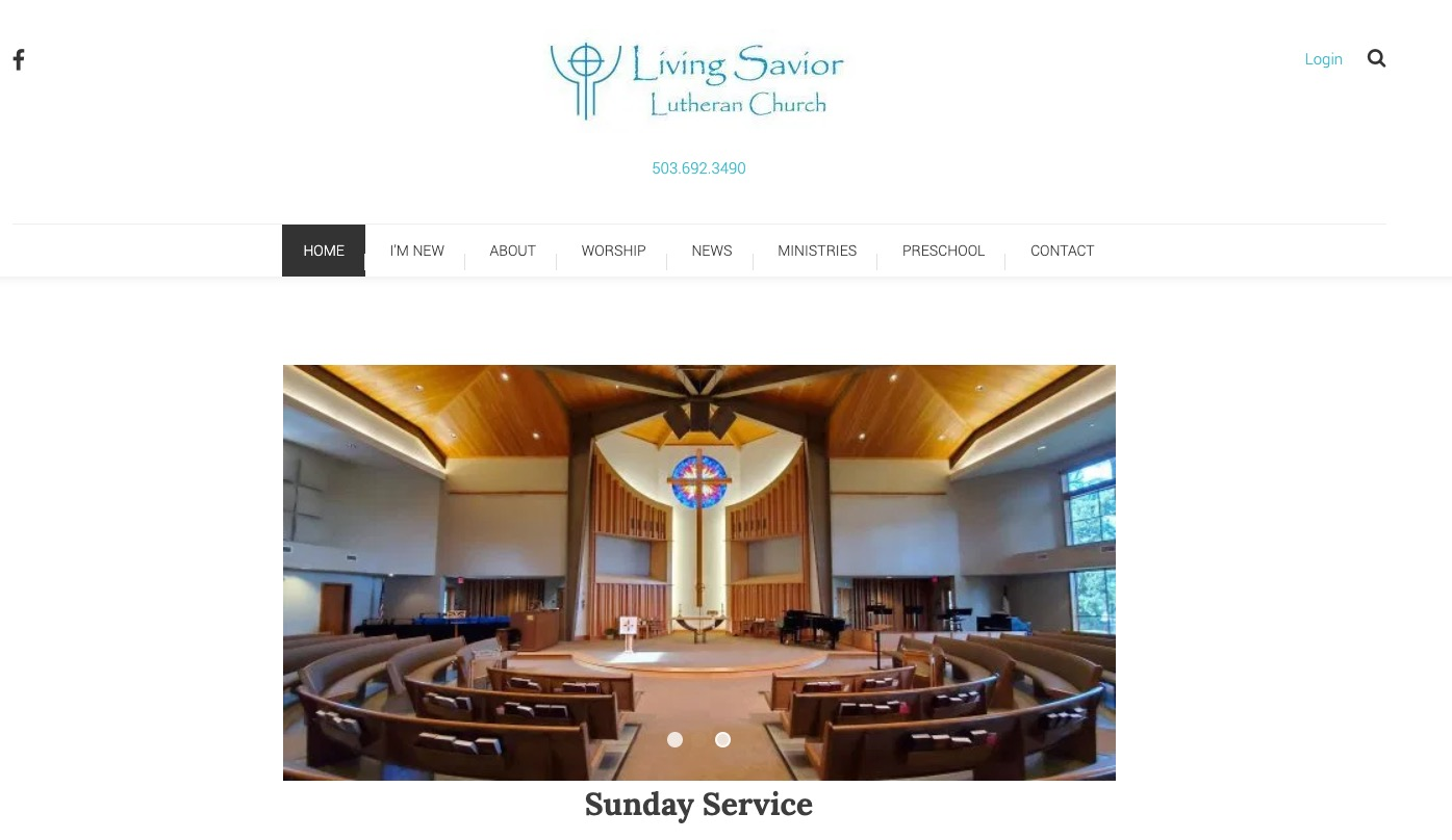 Living Savior – remodeled site launched