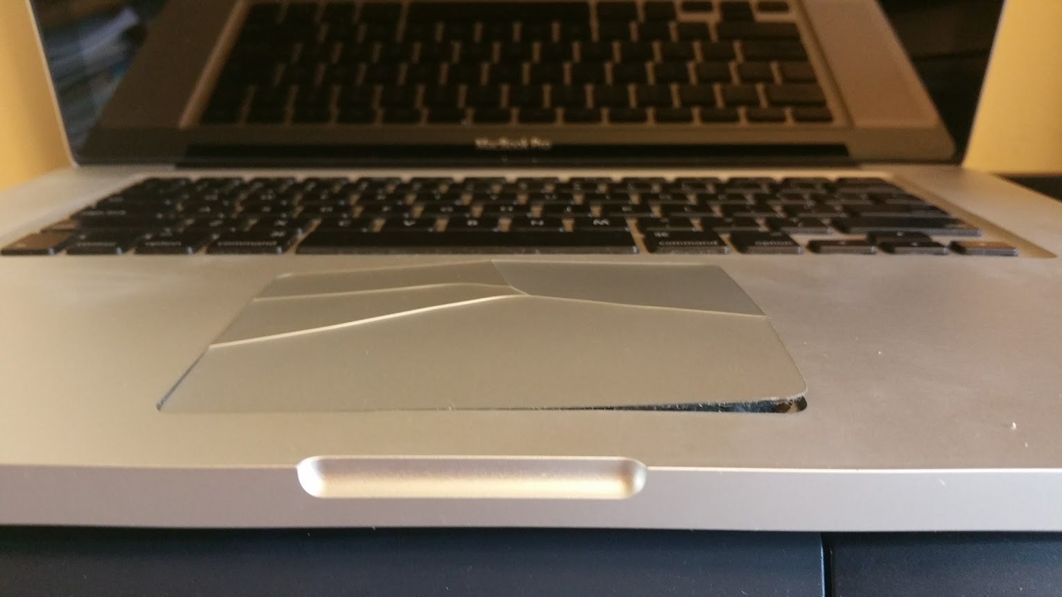 Trackpad destroyed